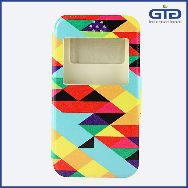 Applicable 98% Cell Phone Embossed Universal Painted Case Flip Cover