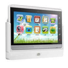 "7"" Color TFT LCD metal case tcp ip video door touch screen phone with wifi,alarm, smart home functions"
