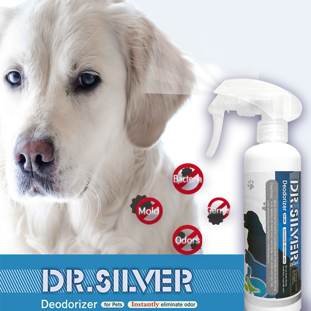 Dr.silver ions long-lasting clean for cat bed dog pet house 260ml