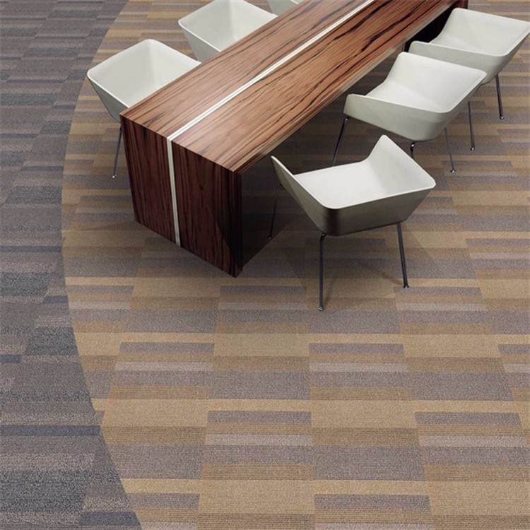 Fireproof Hotel Nylon Carpet Tiles For Floor