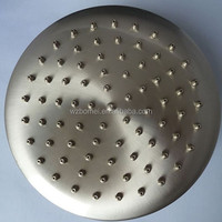 8'' LED 304 stainless Steel Bath Ceiling mounted Rain Shower Head in Brushed