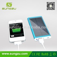 New Portable External USB Solar Power Battery Charger For iPhone 5S Samsung Galaxy Note 3 S5 S4 S3 LG G3