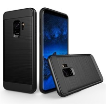 Wholesale Android Phone Accessories For Samsung S9 Case, Wire Drawing Drop Protection Case For Galaxy S9