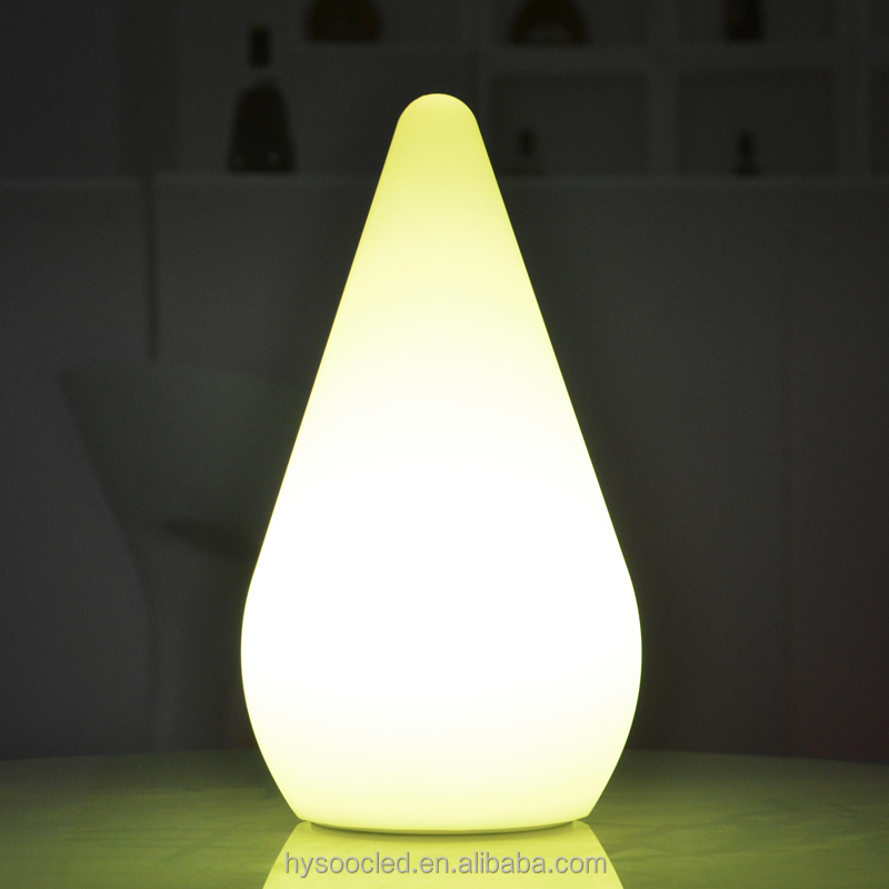 Table Lamp Led Rechargeable Hotel Table Lamp With Rgb Color Light