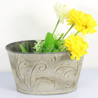 Good price bonsai pot and metal flower pot made in China