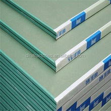 Fire Rated Water Resistant Gypsum Board Made in China