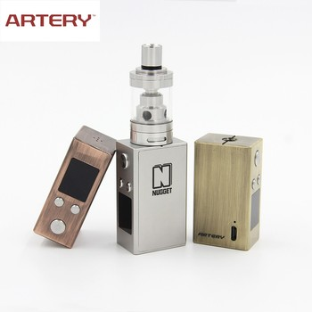 2017 Newest supplier Artery vapor gold rush kit 50W box mod ecig