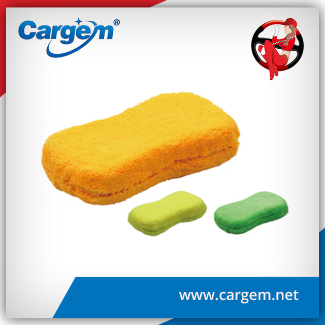 Cargem Hot Sale Chenille And Strong Decontamination Wash Motor Car Sponge