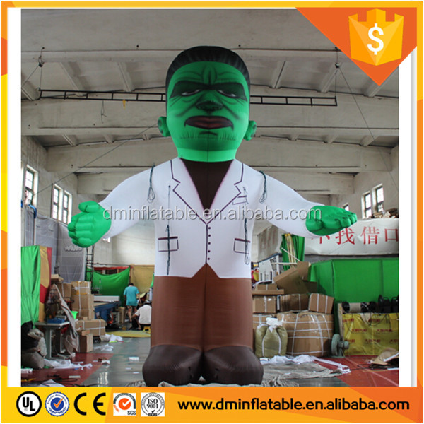 Inflatable Halloween Wizard for Shopping Mall Decorations