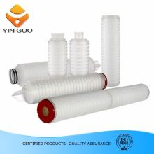 Natural hydrophilic Nylon66 micro Membrane Filter Cartridge for fine chemicals especially keton, ester and ether filtration