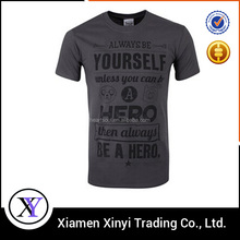Cheap screen printing famous brand name t shirts for men