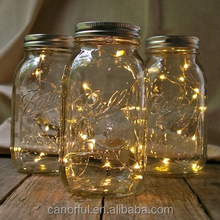 Copper wire Christmas LED string lights