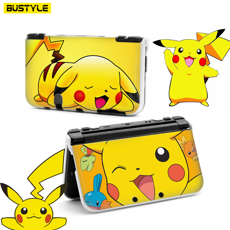 cartoon hard case for new nintendo 3ds xl cover for pokemon go cover