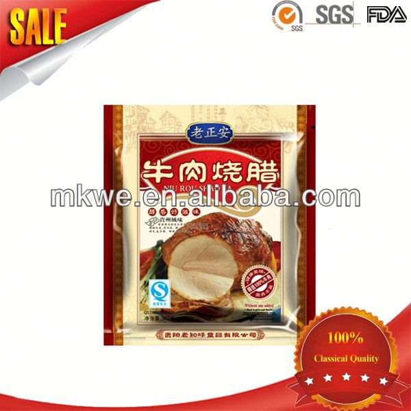 beef jerky steak sirloin packing pouch