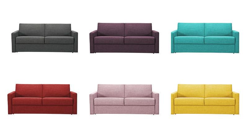 Modern italian sofa bed mechanism sofa cum bed my086 - Sofas italianos modernos ...
