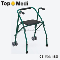 Alibaba china supplier topmedi handicapped equipment walking aids crutches with chair