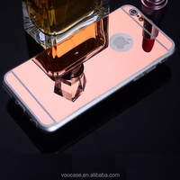 New Arrival Beautiful High Quality Rose Gold TPU Cell Phone Back Cover Case For iPhone 6 Phone Case