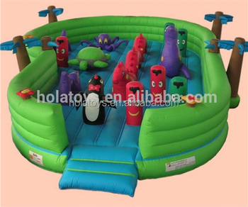Giant inflatable bouncer castle/inflatable amusement park for kids
