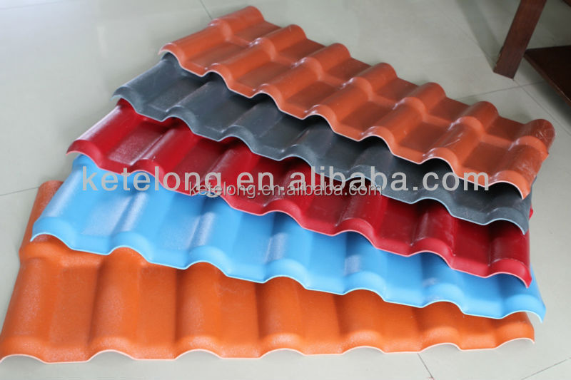 asa coated upvc roofing sheet