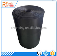 Durable thick corrugated transparent plastic sheet roll