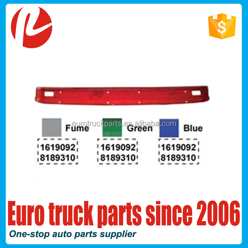High quality durable volvo fh12 heavy truck sun visor OEM1619092 8189310 for Volvo Truck Body Parts