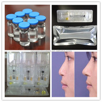 high quality cross-linked hyaluronic acid gel injection/injectable sodium hyaluronate dermal filler