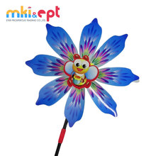Promotional toys cartoon plastic <strong>windmill</strong> toy in low MOQ for kids