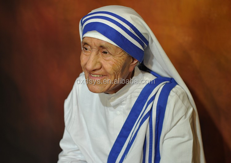 Blessed Teresa of Calcutta Lifelike Full Size Silicone Wax Figure