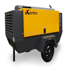 HG300M-10 Kerex China Portable diesel screw movable air compressor
