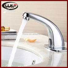 Hot Cold Mixer Automatic Hand Touch Free Sensor Faucet Bathroom Sink Tap