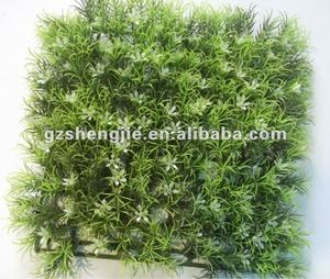 HOT SALE UV PROTECTED Artificial plastic boxwood grass mat 25cm*25cm