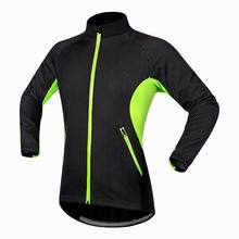 Specialized Men's Full Zip Long Sleeve Thermal Cycling Jersey Windproof Jacket