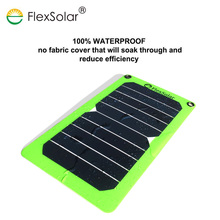 High quality sunpower and ETFE 5.3w usb solar power charger for cell phone