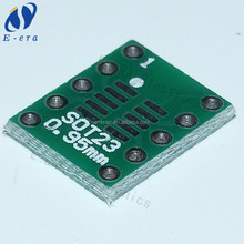 manufacturer of printed circuit board sot23 / msop10 / SOP10 turn DIP10 umax 0.5mm 0.95mm