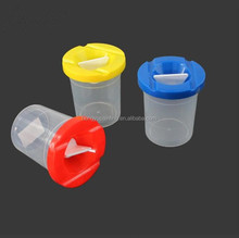 F310 Different color high quality wash <strong>brush</strong> pot painting <strong>brush</strong> washers clear plastic washers