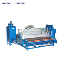 New type automatically glass frosting machine, tempering glass sandblasting machine