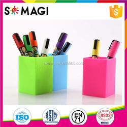 SOMAGI Liquid Chalk Markers On Line/Glass Painting, drwaing, Kids favorite.6mm reversible tips/water-based/non toxic.