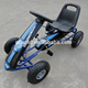 adult pedal go kart with rubber pneumatic tyre