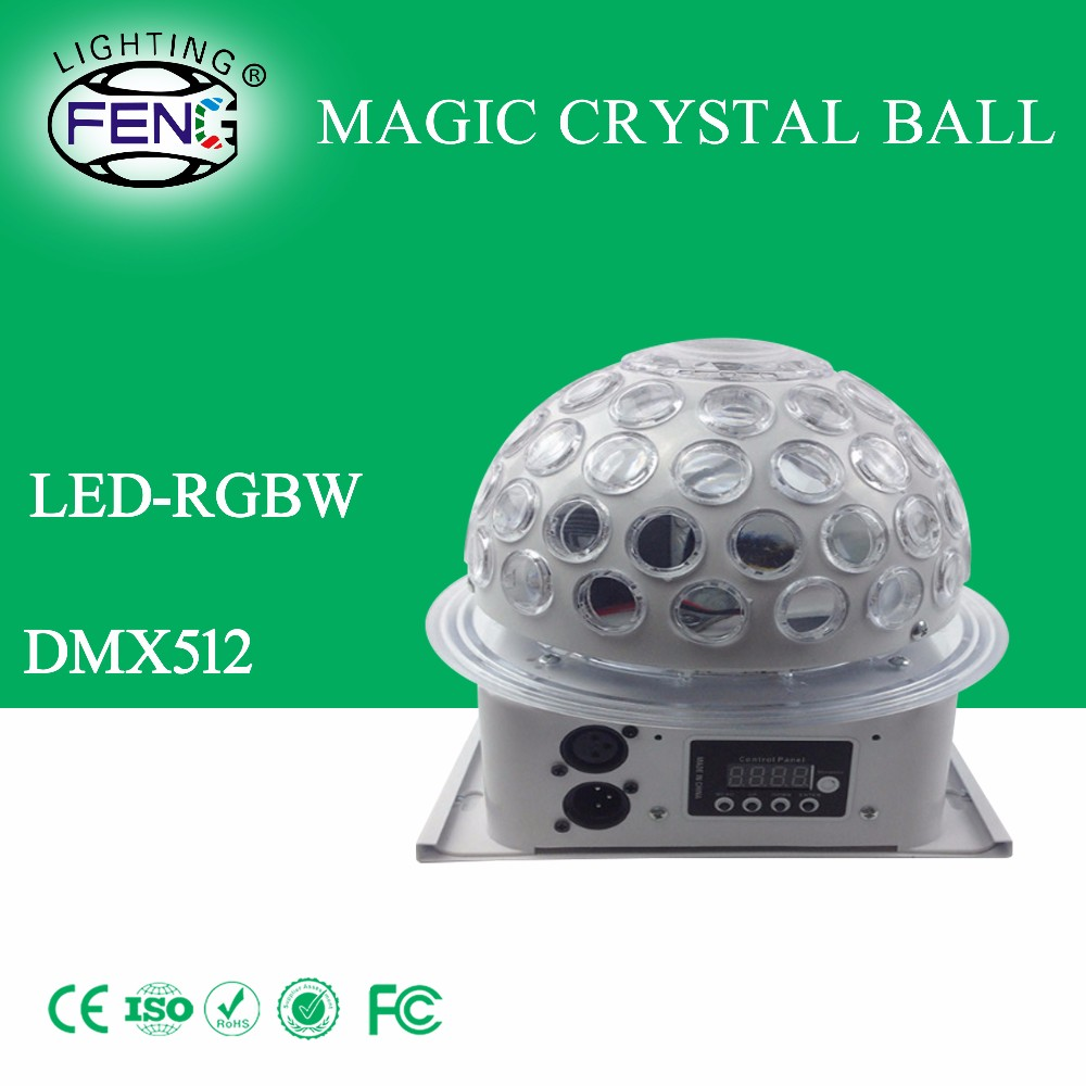 2016 Mini crystal ball bluetooth speaker magical KTV stage led rotating light