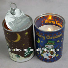 Black Candle Tins & Logo Wedding Decoration For India