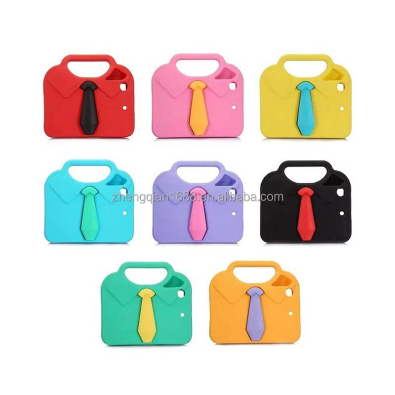Hot-selling Case for iPad pro 9.7/12.9inch EVA Stand Fashion Tie Portable Children Tablet Cover for iPad 2/3/4/5/6 cases