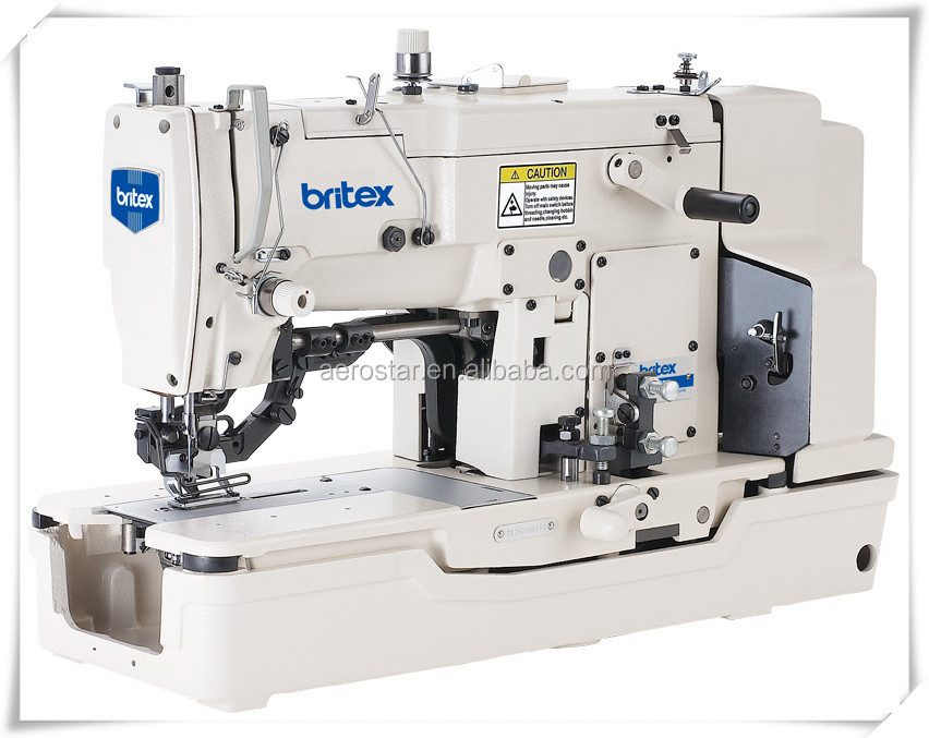 BR-781 high-speed straight button holing industrial sewing machine series