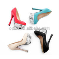 new designed high heel shoes 2013 CP6005