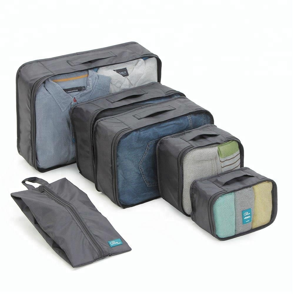 P.<strong>travel</strong> multiple size 6pcs storage organizer <strong>travel</strong> packing cubes
