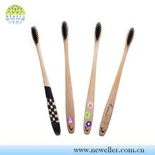 Camping use LFGB approved classic toothbrush with hot-stamping logo
