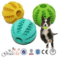 Squeaky ball rubber dog toys