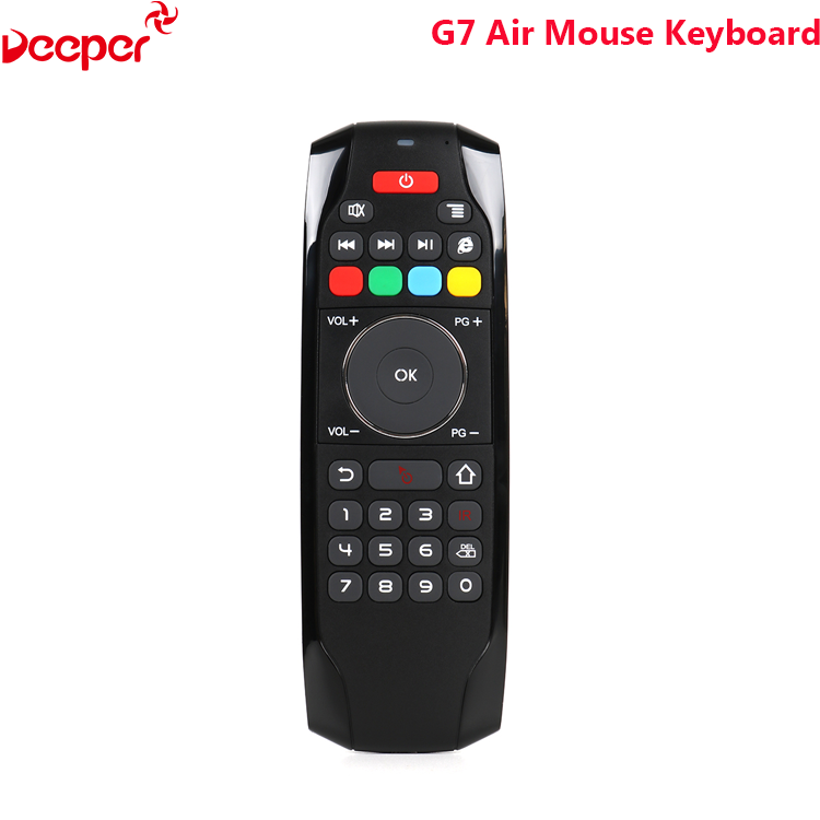 Best Selling G7 Air Mouse Keyboard For Android Tv Bluetooth With Long Term Service Wireless Remote Control