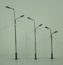 Construction scale model miniature street lights for model railway