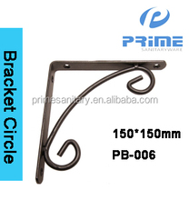 China easy to install strong SS ornamental bracket