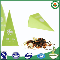private label pu erh tea bags blend with dried jasmine flowers